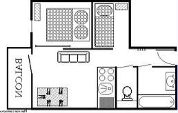 Lauzières 620 > 5 pièces en duplex - 8 personnes - 5 Flocons Or