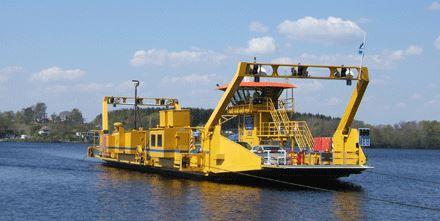 Ivöleden – the ferry to Ivö