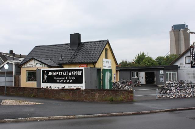 Cykeluthyrning i Åhus