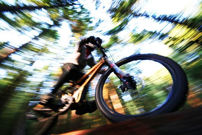 Rent a bike at Lugnet