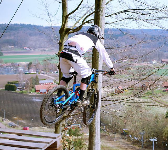Vångabjerget - downhill cykling
