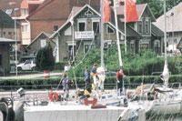 Åhus Yachthafen