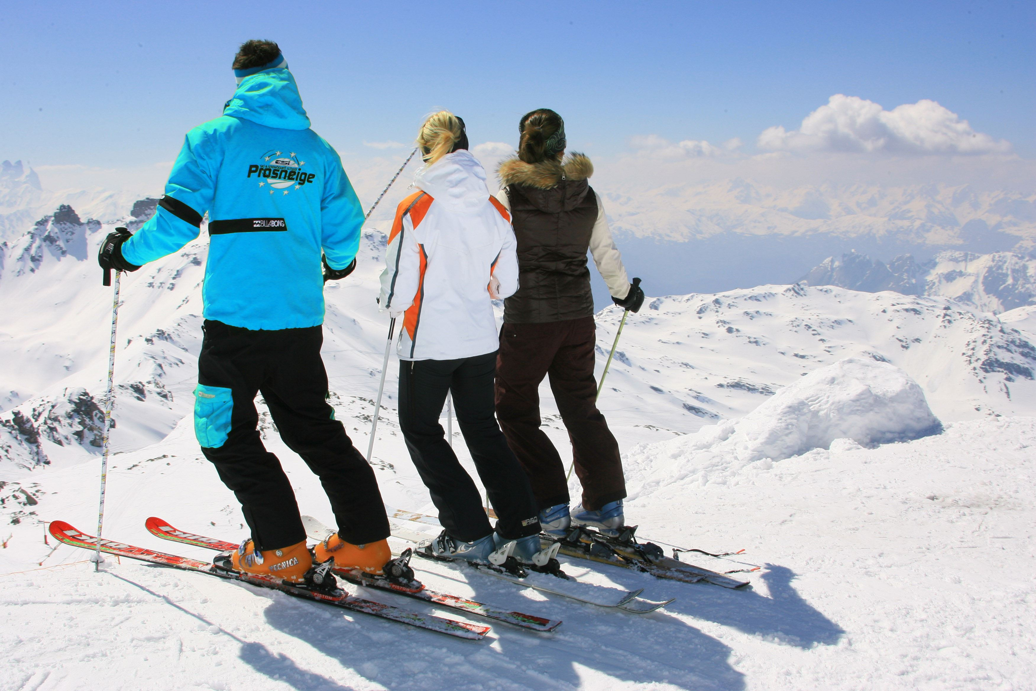 Afternoon adult ski Group lessons - Prosneige