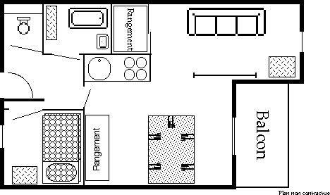 Reine Blanche 053 / Appartement 2 pièces 4 personnes confort