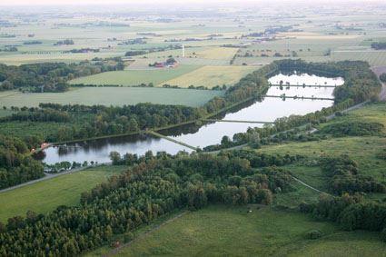 Fiske i Rögle dammar