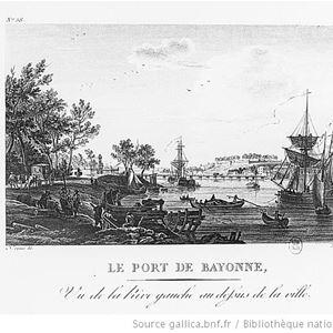 Bayonne: le port en ville