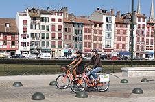 Vélo-découverte à Bayonne