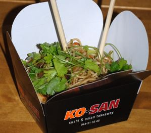 KO-SAN - sushi og asiatisk take away