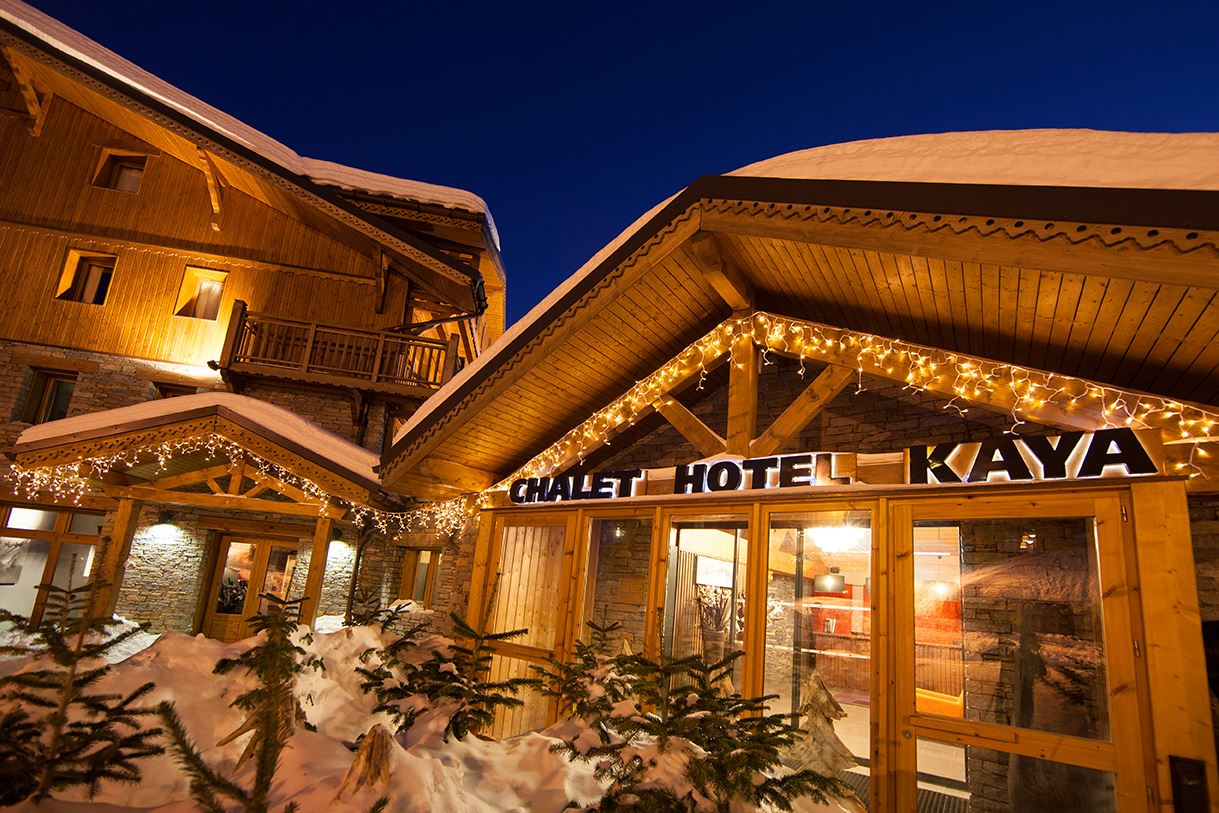 "Hotel ski-in ski-out / HOTEL KAYA (4,5 Snowflakes ""Gold"")"