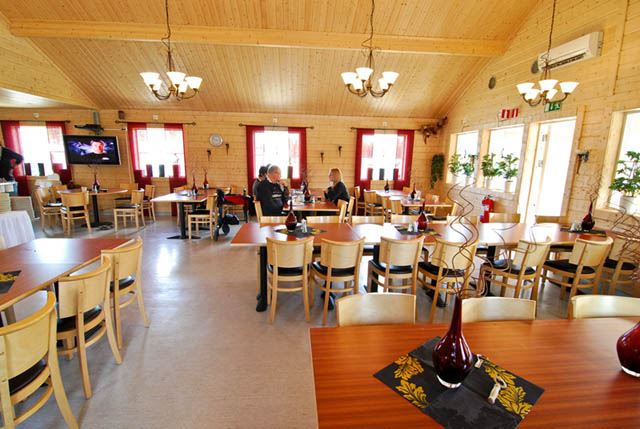 foto:dynamedia.se, Dinners at Fromhedens Camp
