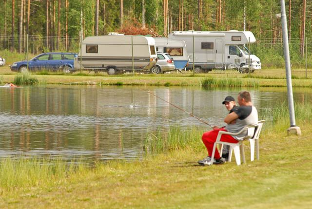 foto:dynamedia.se, Äta på Fromhedens Camping