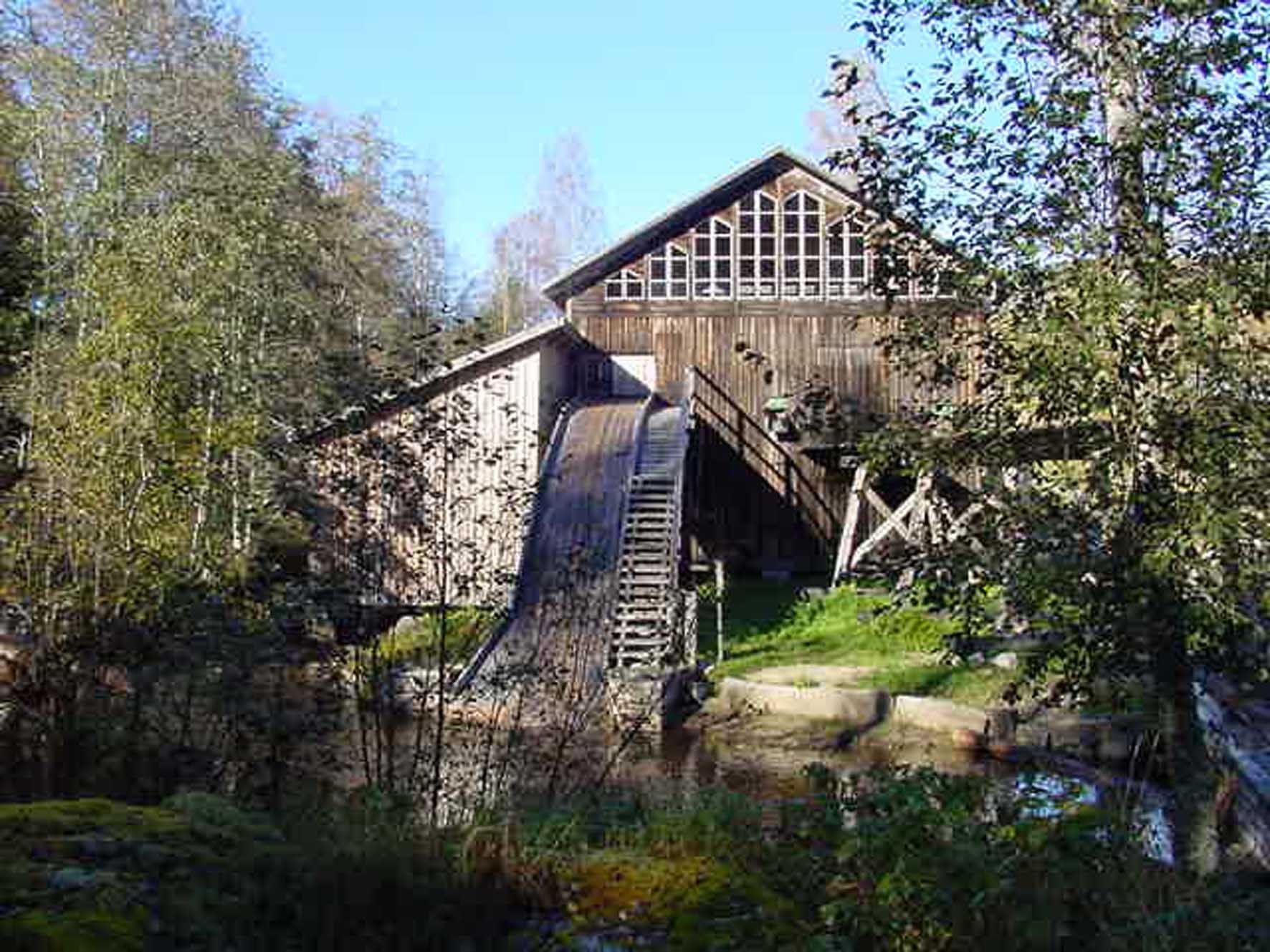 Tore Löfvenius,  Sägewerk von Åsen