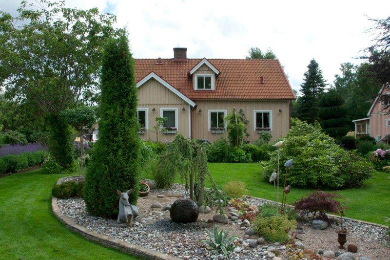 Bengt och Britta Kleins trädgård