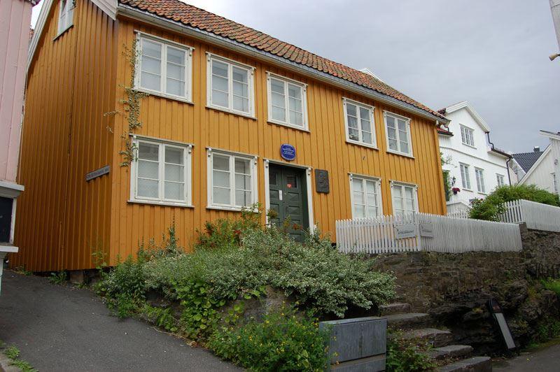 Kragerø: Kittelsenhuset (Kittelsen House)