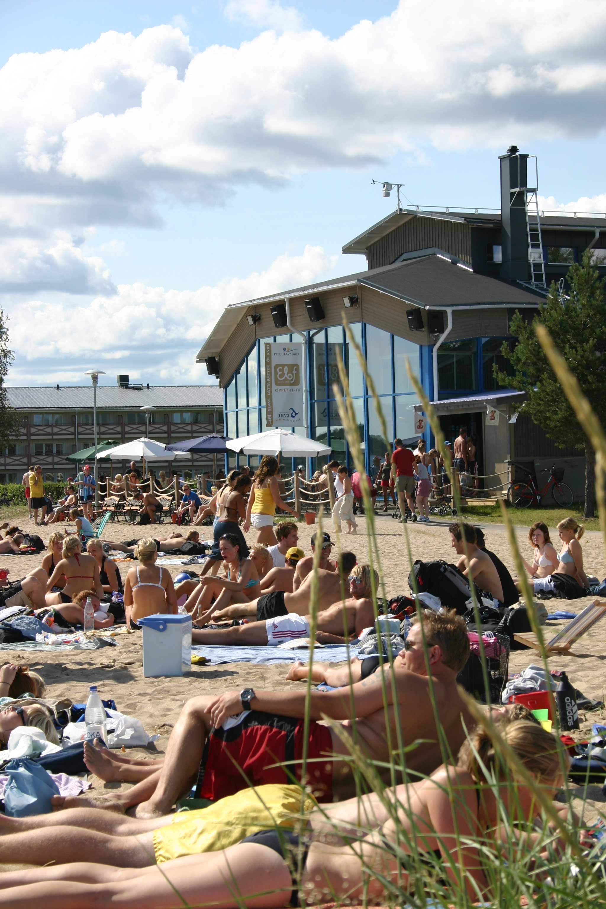 Pite Havsbad/Ferienhäuser