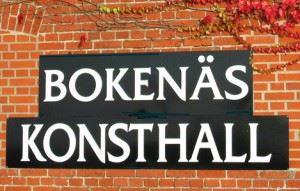 Bokenäs konsthalla i Trelleborgs kommun.