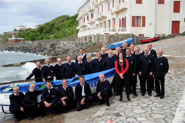 Concert de Chants basques le lundi 18 juin à 21h15 l'Eglise de Guéthary