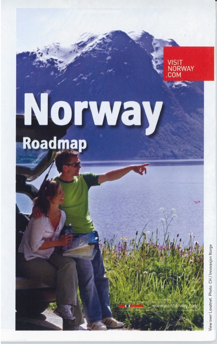 Road map Norway (French)