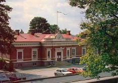 Hörby Museum. F d Tingshuset från 1885 är ett spännande och sevärt museum som speglar traktens historia.