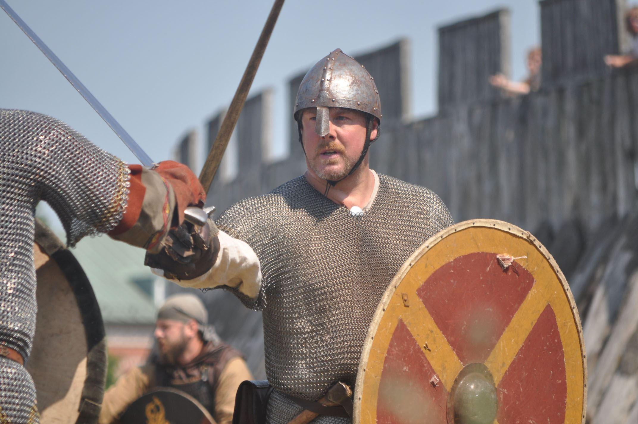 The battle of Trelleborgen