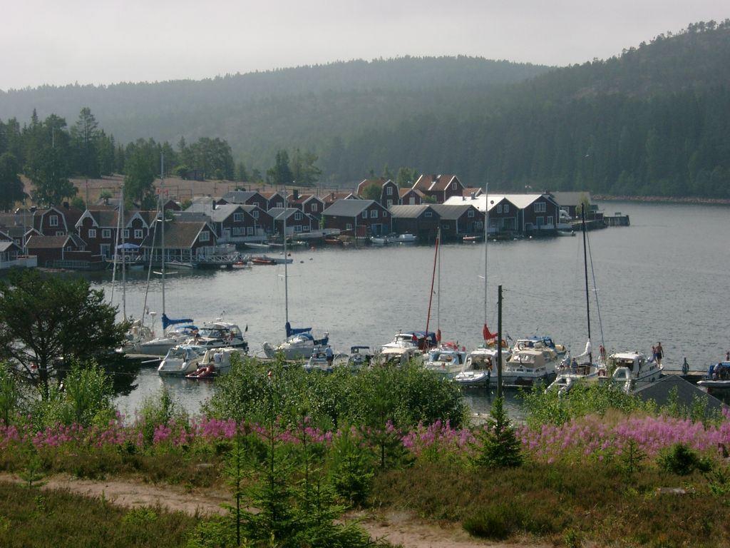 Foto: Markus Vallin, Norrfällsviken fiskeläge och gästhamn