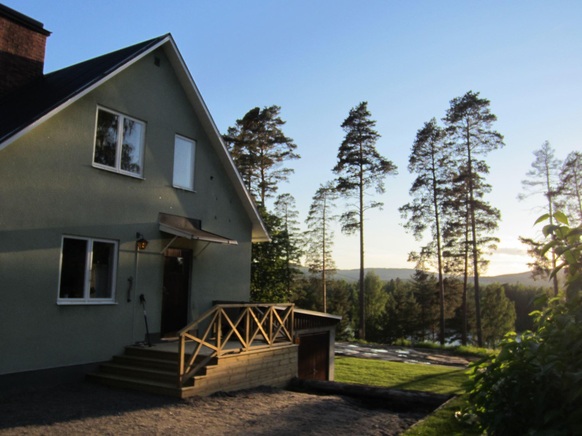 Villa Solsidan i Norränge – Mitt i Hälsingland