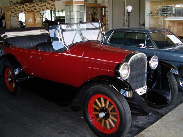 Bil på Ådalens Veteranbilmuseum