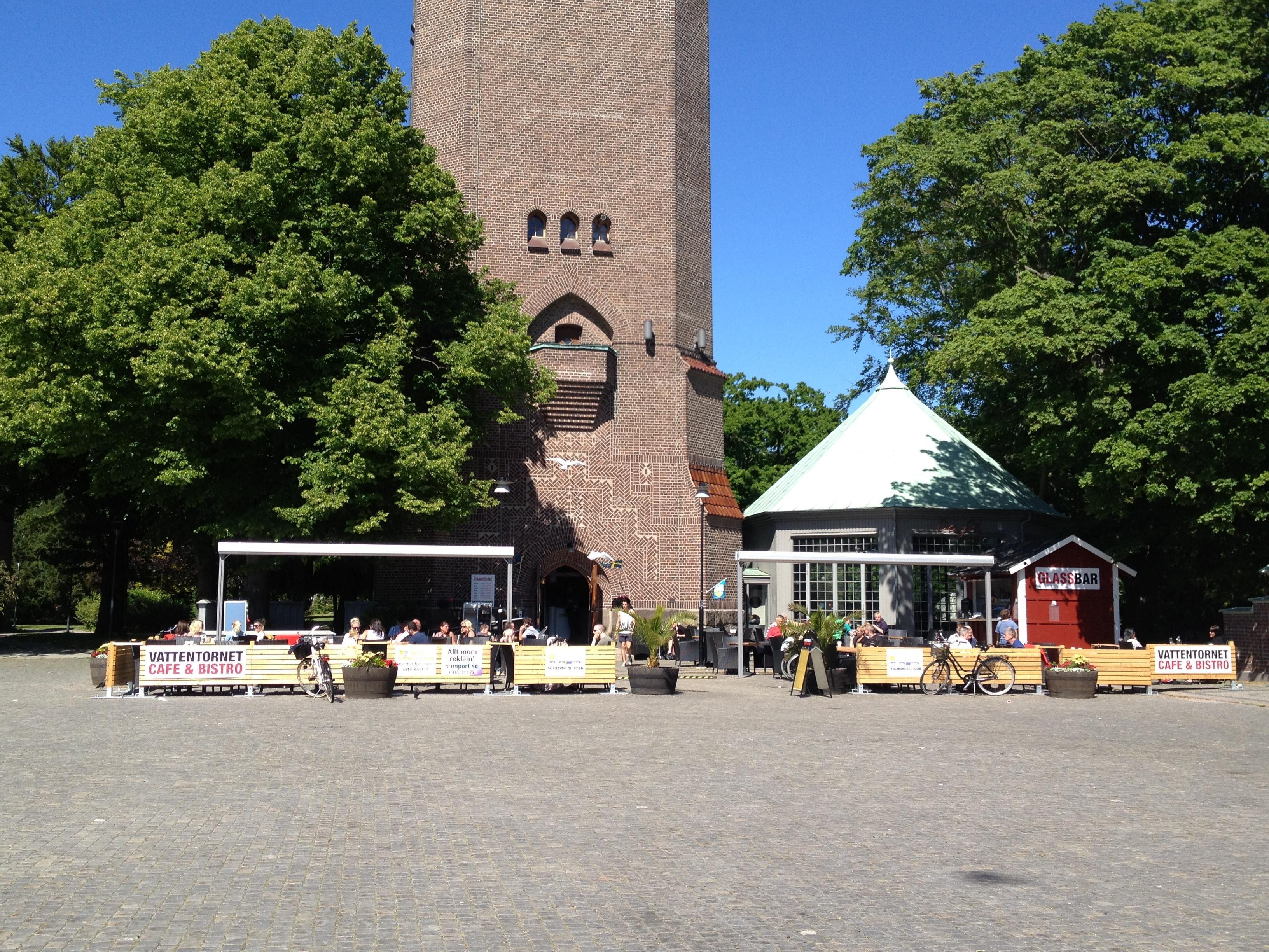 Sandra Jeppsson, Caféet har utsikt mot Stadsparken och Stortorget