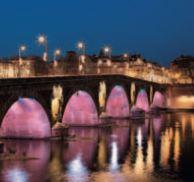 Toulouse by night, la ville en lumière