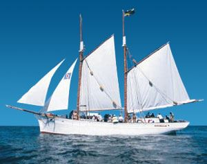 Evening sailing with Klara Marie