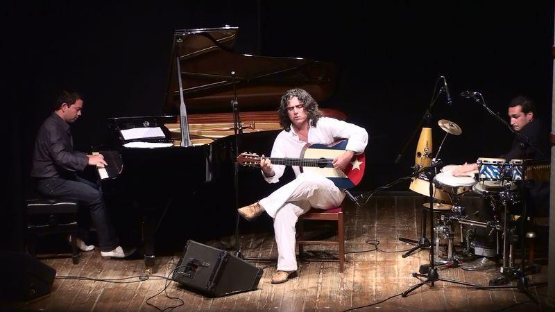 Guitaralde Hendaye : Concert d'Alfredo Panebianco - Cuban Trio