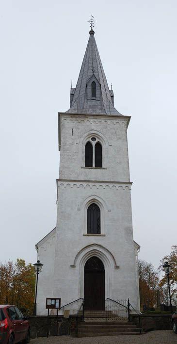© Anderslövs Församling, Stora Slågarps kyrka är en romansk absidkyrka av sten och tegel som härstammar från 1100-talet.