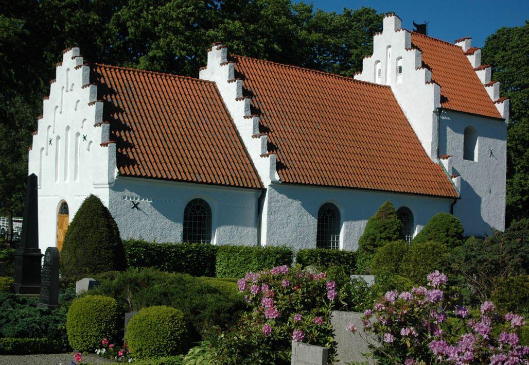 © Dalköpinge Församling, Dalköpinge kyrka är den sydligast belägna i Skytts härad och ligger 25,49 meter över havet.