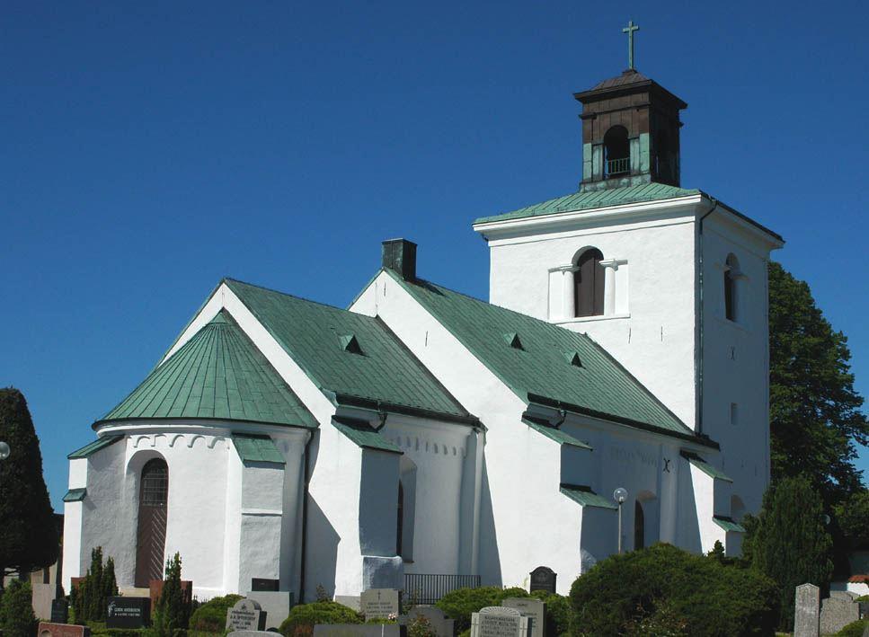 © Dalköpinge Församling, Gislövs kyrka, byggd vid sekelskiftet 1100 och 1200, är en av Skånes äldsta tegelkyrkor.