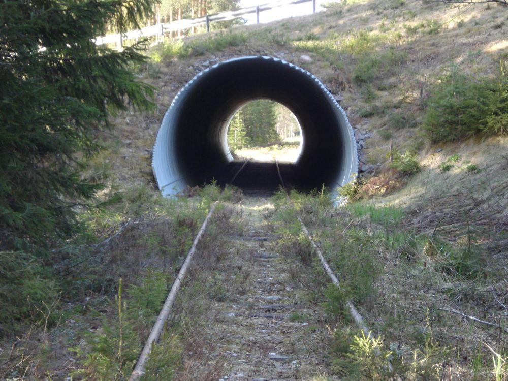 Rail trolley in Vansbro
