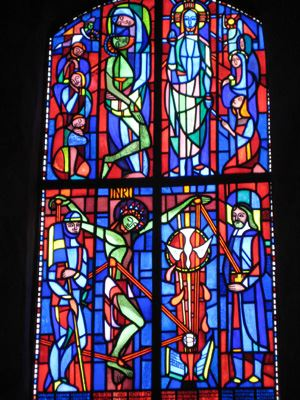 Heliga Kors kyrka (Die Kirche des heiligen Kreuzes)