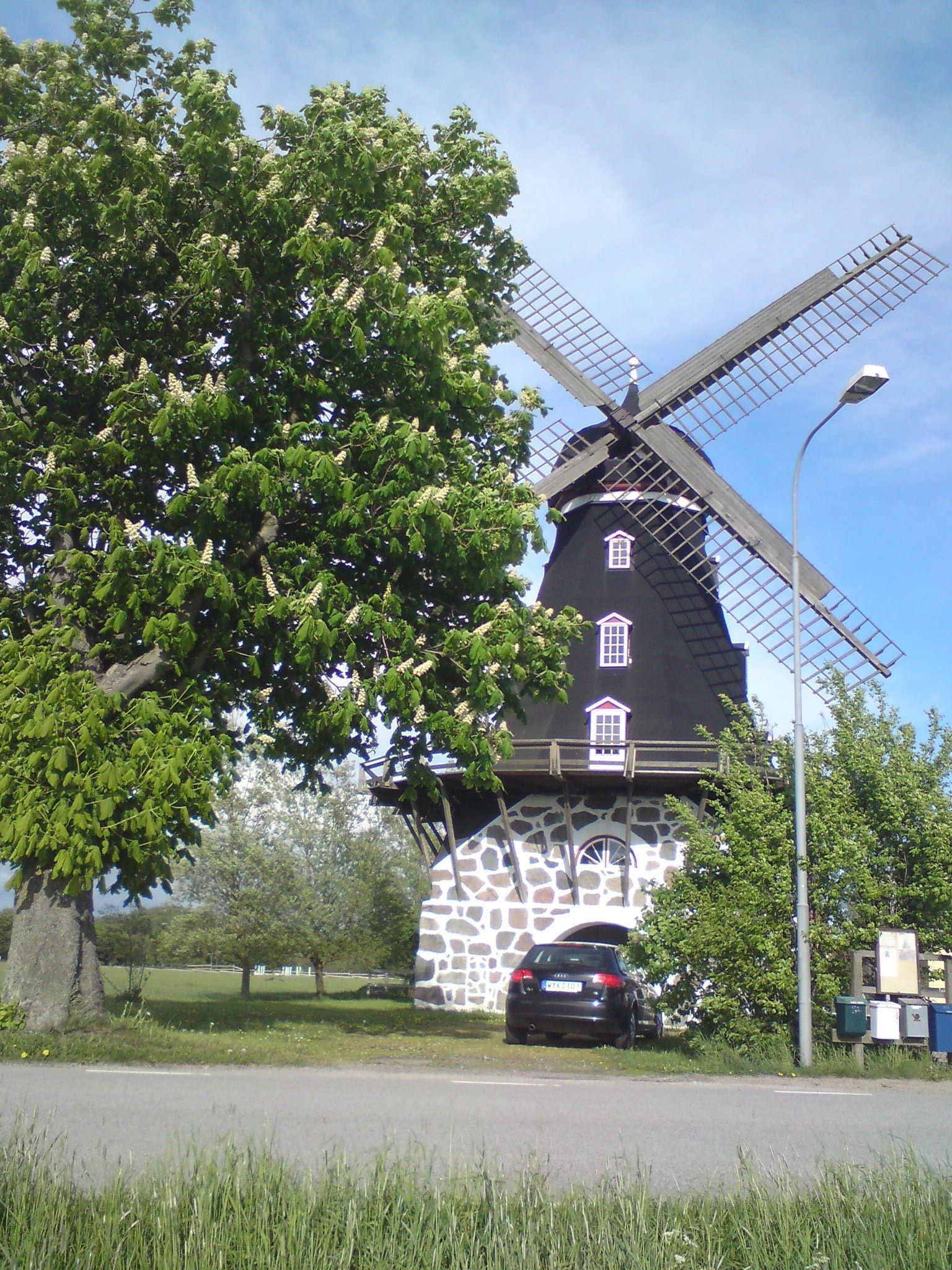 Norra Grönby windmill