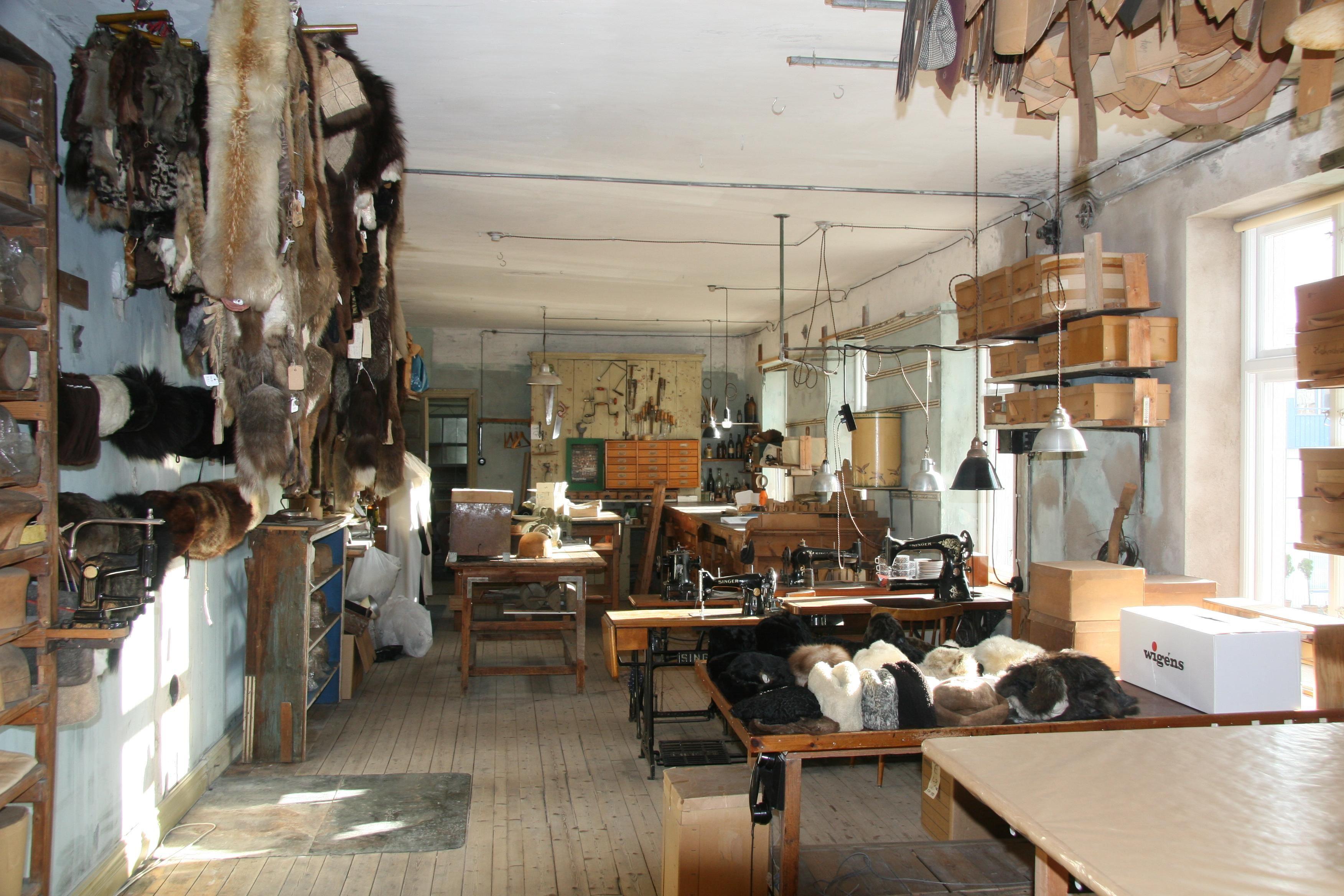 Ett museum där tiden stått stilla