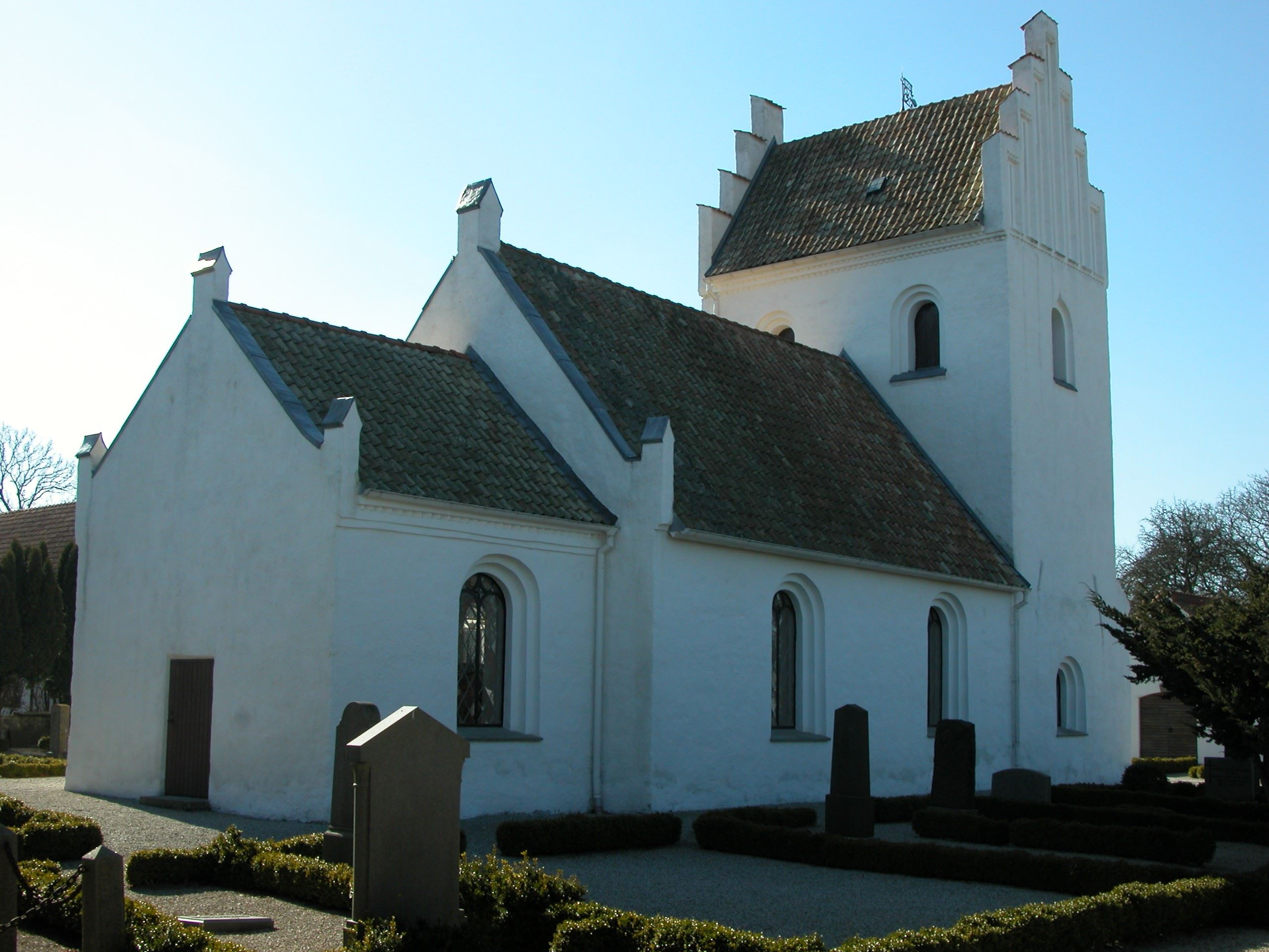 Västra Vemmerlöv's church