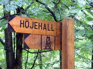 © Internet, Höjehall - Skåne's highest point