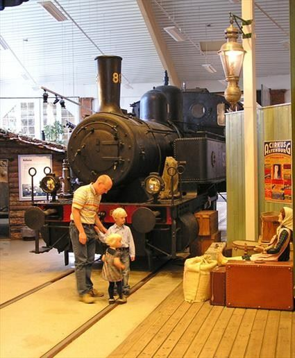 The Railway Museum Ängelholm