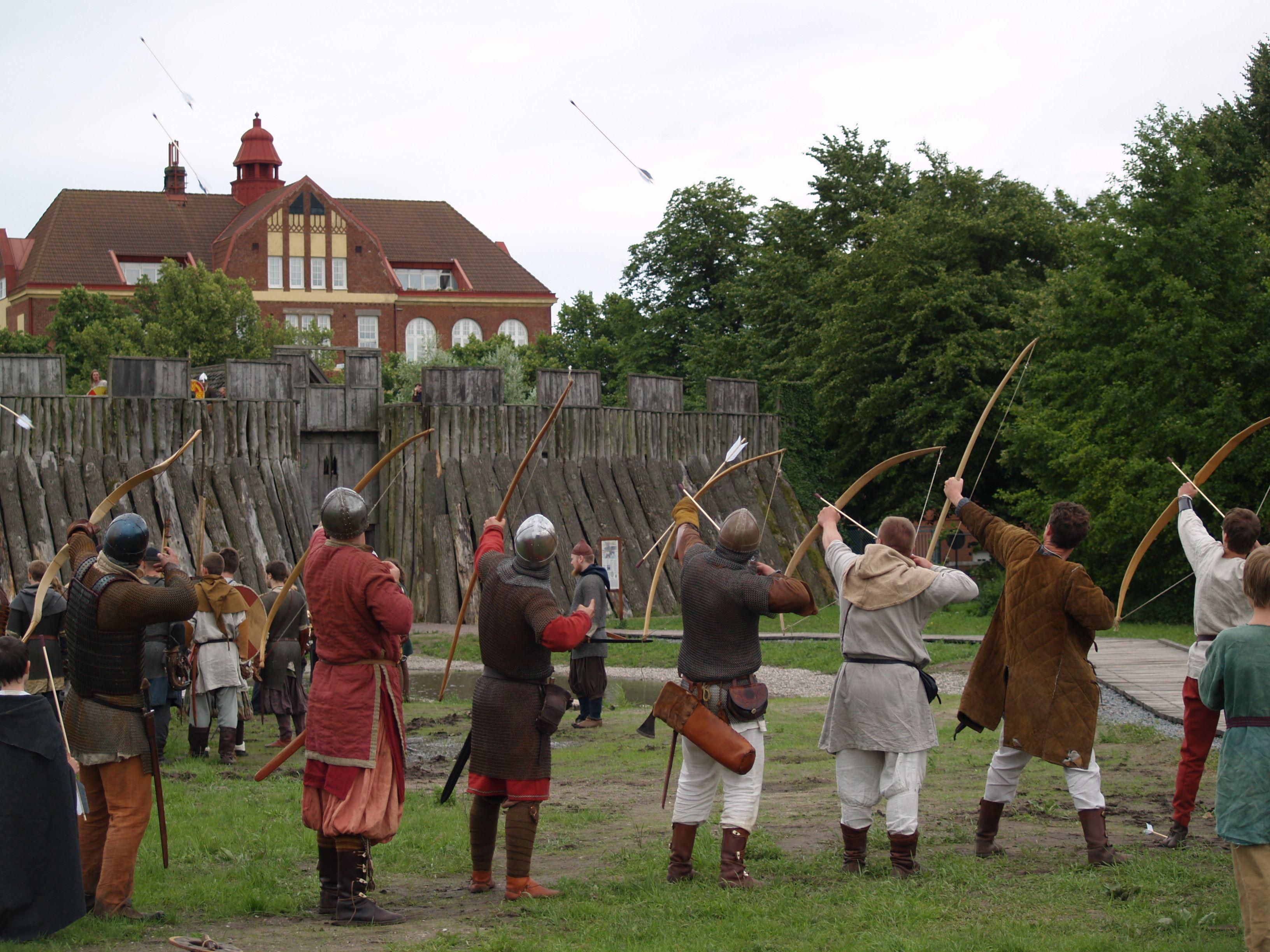 The Viking fortress Trelleborgen