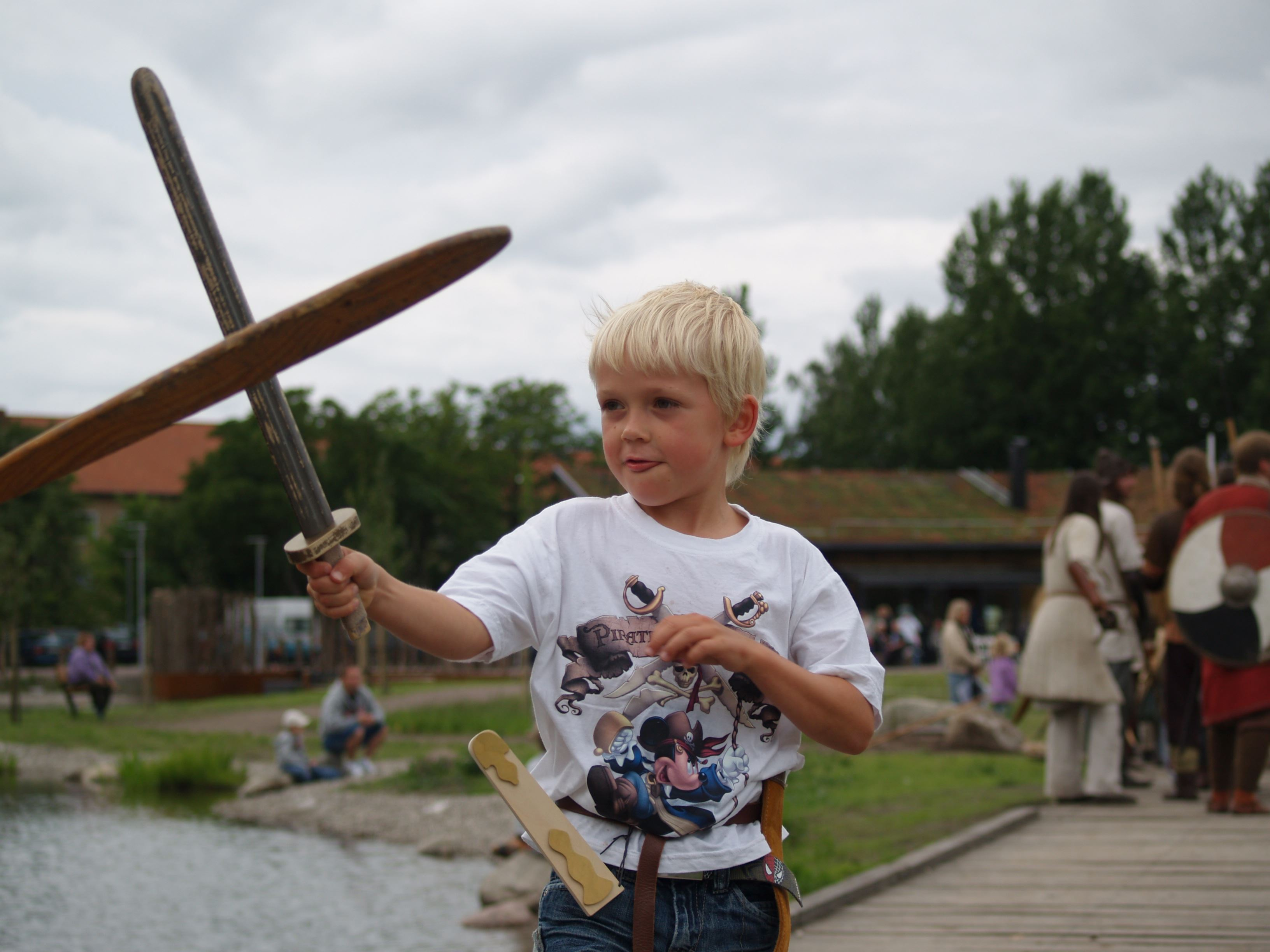 Jeanette Jandermark, The Viking fortress Trelleborgen