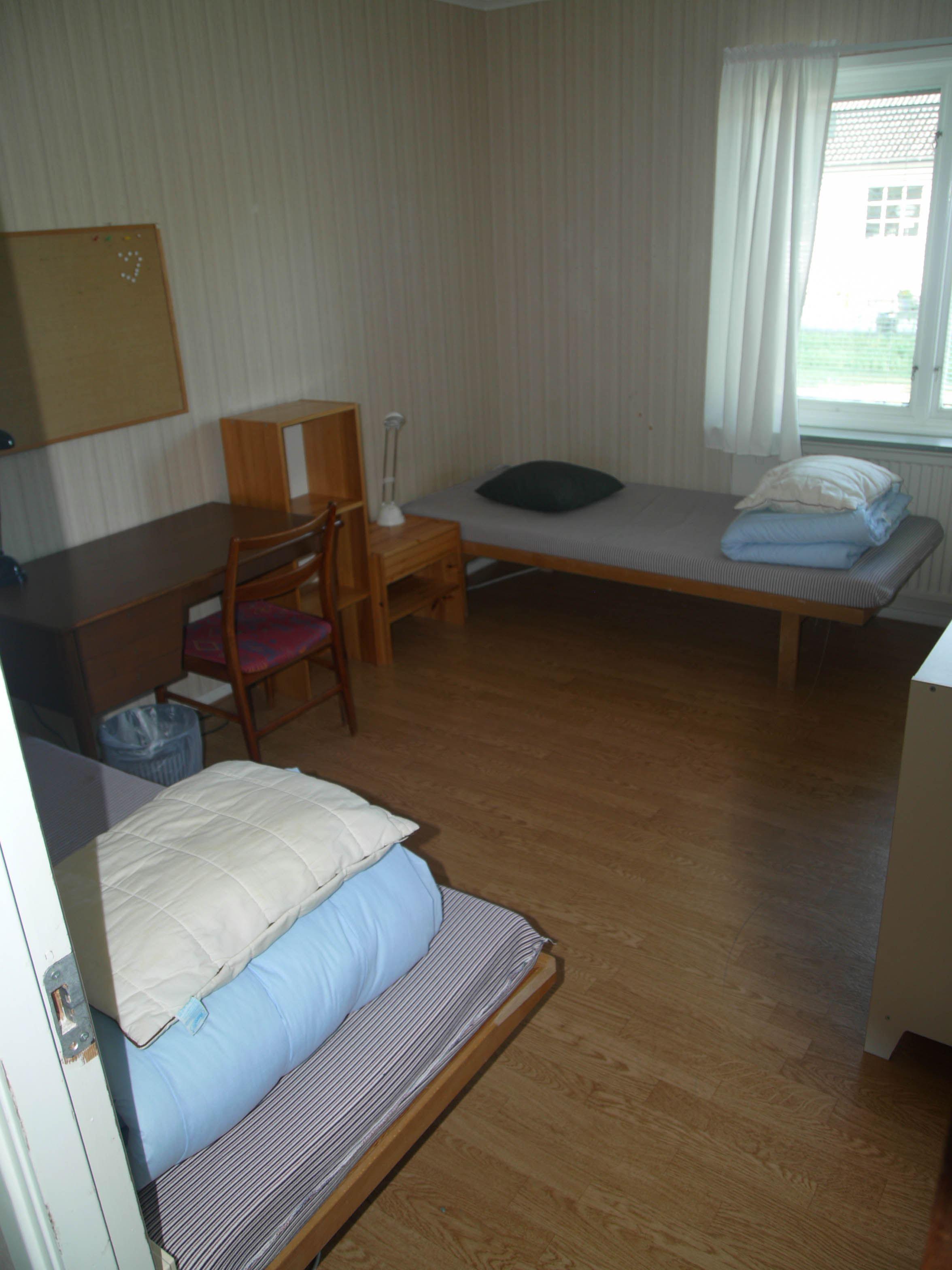 Rum på Glimåkra vandrarhem och folkhögskola i Broby