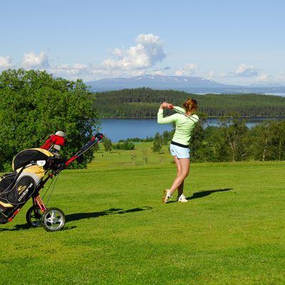 Foto: Östersund-Frösö Golfklubb,  © Copy: Östersund-Frösö Golfklubb, Östersund Frösö golf course
