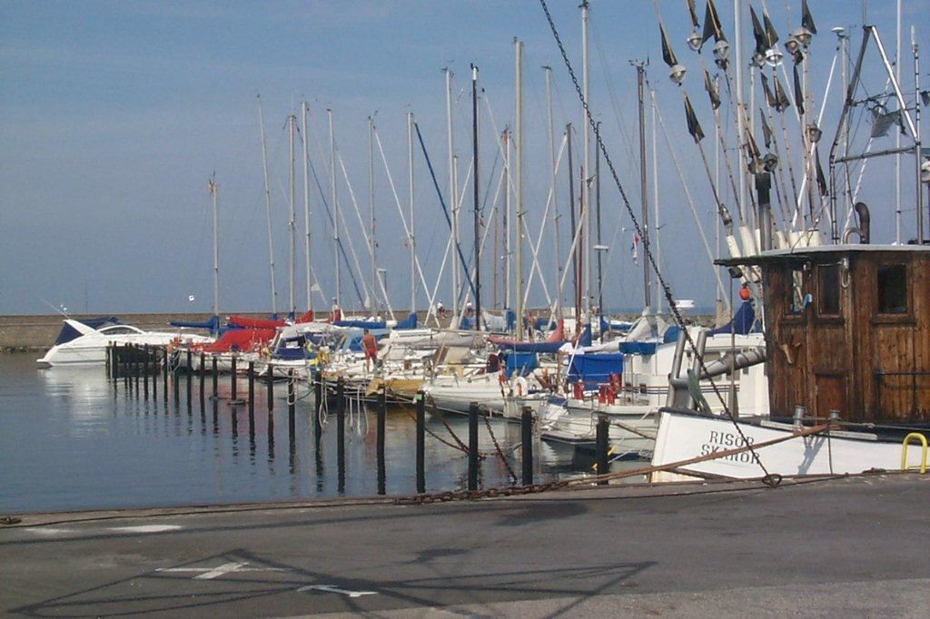 Skanör's marina and guest harbour
