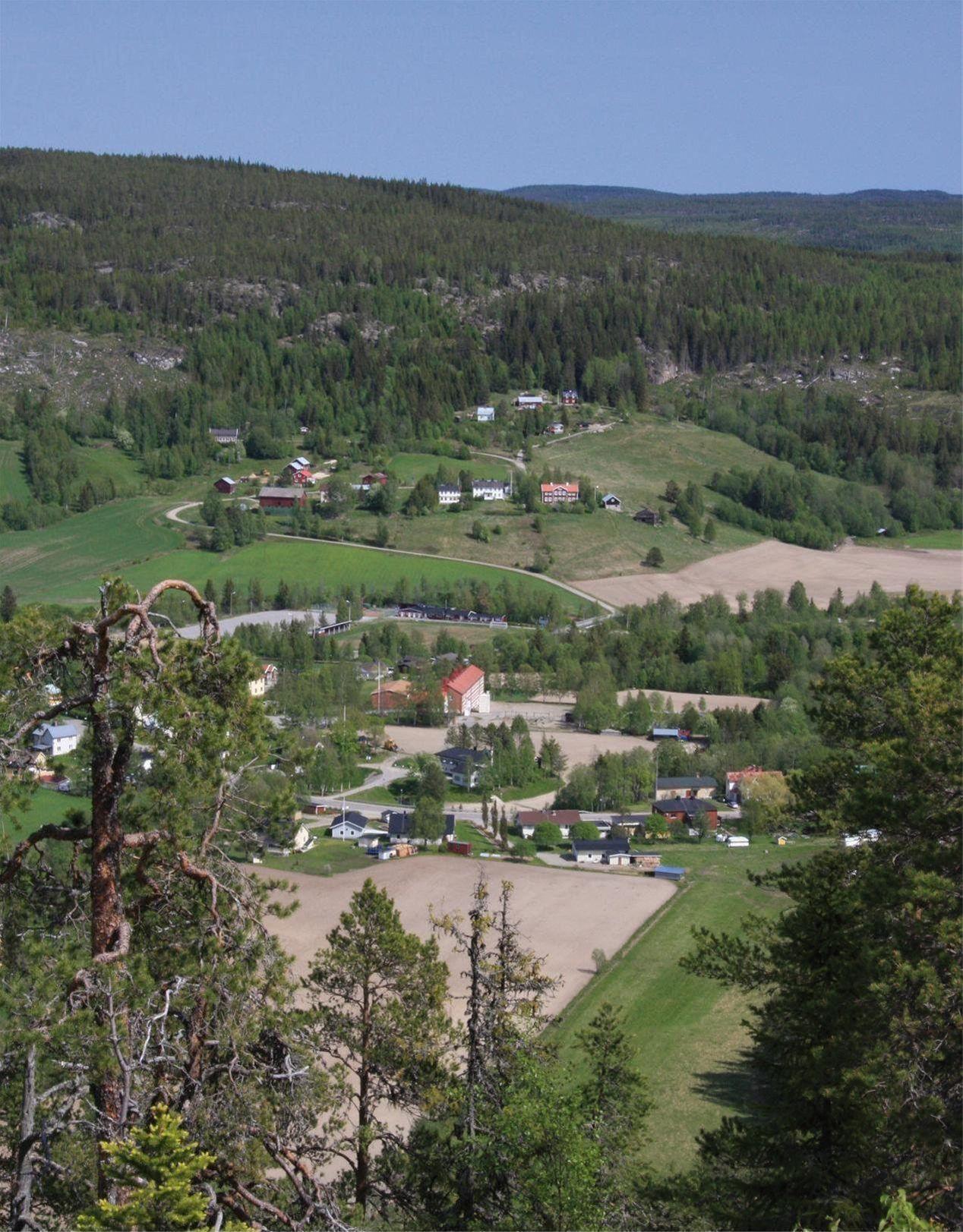 Burberget - Vandringsstig, utsiktsplats & guldgruva