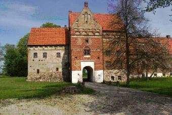Borgeby Slott med slottspark