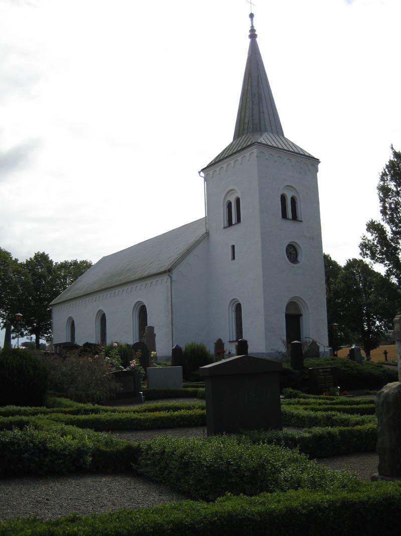 Katslösa Church