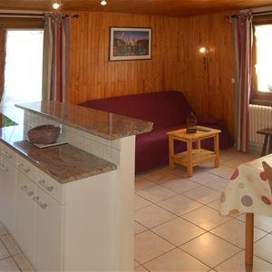 Leilighet for opp til 4 personer med 2 rom på Frachettes n°2 – Les Gets